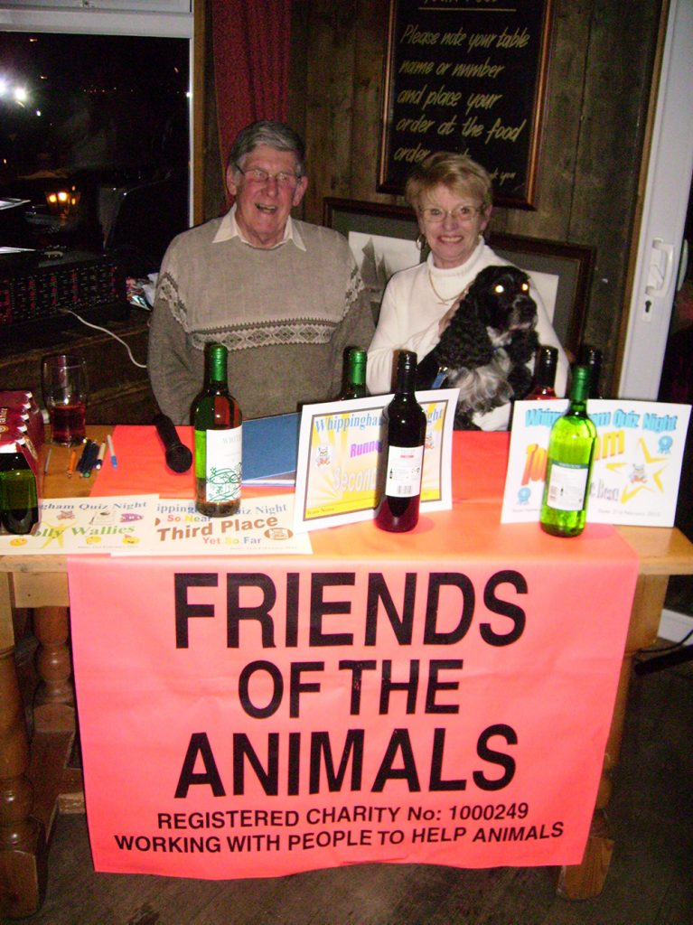 Friends of the Animals Quiz Nights